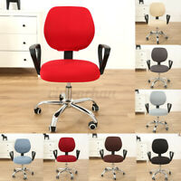 Swivel Computer Chair Cover Stretch Office Armchair Slipcover Seat Protector USA