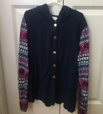 Girls shirt/ lightweight jacket size 10/12