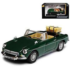 MG B CABRIOLET 1:43 Car Model Die Cast Metal Cars Models Miniature Racing Green
