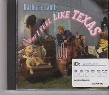 (FX945) Barbara Lamb, Tonight I Feel Like Texas - 1996 CD