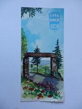 USCIO CASA DI CURA ARNALDI Genova vecchia brochure