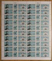 Bund Zusammendruck Bogen Nr. 1537 - 1538 FN 3 postfrisch m.Plattenfehler 1538 I