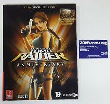 Guía Oficial, Lara Croft Tomb Raider Anniversary, Prima Games.