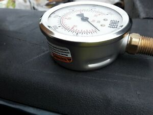hydraulic pressure gauge new