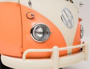 2x Scheinwerfer VW T1 Bus Umrüstung US EU Samba Bulli Volkswagen Umrüst Set H4