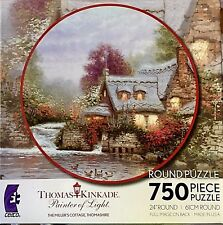 Thomas Kinkade's 750 Piece Puzzle The Millers Cottage, Thomashire
