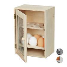 Armoire à oeufs en bois Support oeufs Etagère Petit armoire rangement oeufs