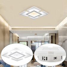 Square White Elegant Acrylic LED Ceiling Light Home Lamp Living Room Bedroom USA