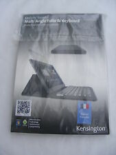 KENSINGTON KEYFOLIO EXPERT CUSTODIA ANDROID E WINDOWS Tablet Francese Clavier