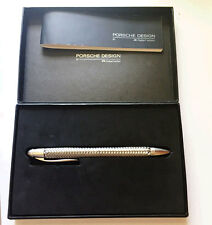 Porsche Design P3110 TecFlex Stainless Steel Mechanical Pencil By Fiber-Castell