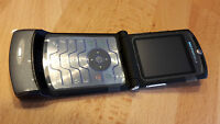 Motorola RAZR V3i Grau + foliert + Klapphandy + ohne Simlock *WIE NEU*