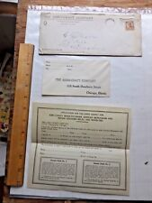 Nice 1920's Salesman's Literature for Abbo-Craft Men's Jeweled/Monogram Belts