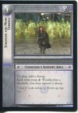 Lord Of The Rings CCG Card SoG 8.C47 Stronger And More Terrible