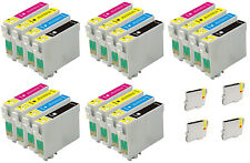 24 compatible ink cartridges to replace T711,T712,T713,T714 for Epson D92 SX205