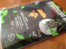 JAPAN Bathing Ape BAPE Magazine Book Milo 2014 Autumn Winter Camo Bag Purse