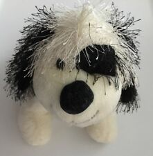 Ganz Webkinz Cheeky Dog B & W HM192 Plush NO CODE