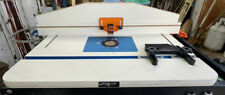 Rockler HPL Router Table with Upgraded fence and And Extra Fence -Dust Hose