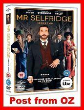 Mr Selfridge: Complete Series 2 -New R4 DVD- UK ITV Season Two Downton Abbey fan