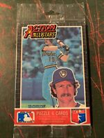 1985 Donruss Action All Stars unopened Pack Robin Yount Brewers & Dave Parker