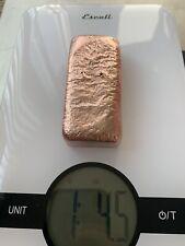 Hand Poured Copper Ingot Bars, Bullion.