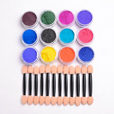 PRETTY Nail Art Color Changing Thermal Glitter Powder Manicure Gradient Pigment