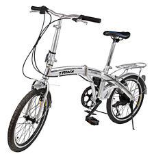"""Alu Klapprad 20"""" Faltrad Fahrrad 6 Gang Shimano Outdoor Sports Silber Cityrad De"""
