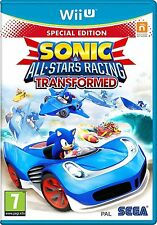 Sonic y All Stars Racing Transformado Limited Edition Para Wii U Pal (nuevo)