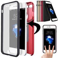Handyhülle Full Cover für iPhone Samsung Case Schutzhülle Bumper Schutz Folie