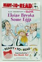 NEW Eloise Boxed Set 1 Pack of 6 Books Ready to Read Level 1 by Kay Thompson
