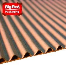 1200mm x 5m Single Face Brown Corrugated Cardboard Roll NEW
