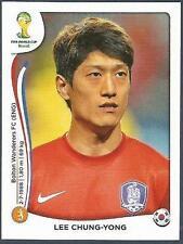 PANINI WORLD CUP 2014- #631-KOREA REPUBLIC-SOUTH KOREA & BOLTON-LEE CHUNG-YONG
