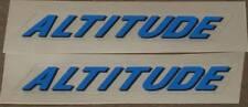 Rocky Mountain Altitude Top Tube Decals - 1 Pair (sku Rock201)