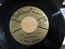 Reggae 45 JOHNNY CLARKE & I. ROY Love Along With Jah / Buck Bryan CLOCKTOWER NM-