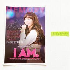 SNSD JESSICA I AM Official Japanese Postcard Girls' Generation