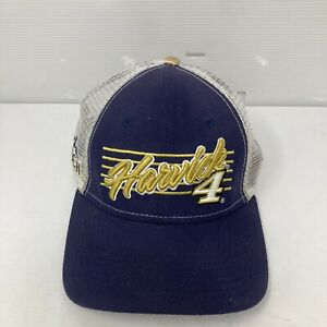 New Era 9Forty Kevin Harvick #4 Hat Cap Blue White Gold Busch Beer Mesh SnapBack
