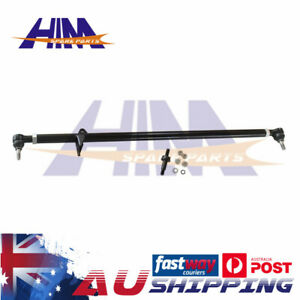 For Nissan GQ Y60 Patrol Adjustable Heavy Duty Drag Link Steering Arm Rod 88-97