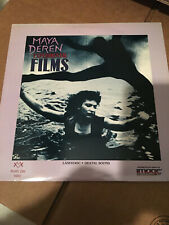 Maya Deren Experimental Films  Laserbeam Disc NM