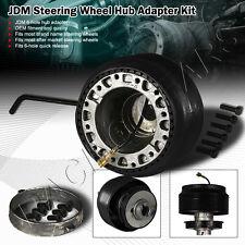 Mazda 323 626 929 Miata RX-7 JDM 6 Hole Bolt Lug Steering Wheel Hub Adapter Kit