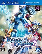 Ragnarok Odyssey PS Vita SONY JAPANESE NEW JAPANZON