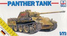 PZ.KPFW V PANTHER AUSF.A - WW II GERMAN TANK (WEHMRACHT MKGS) 1/72 ESCI RARE!