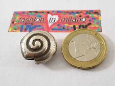 1 chiocciolina in argento 925 di 19x10 mm provenienza  indonesia