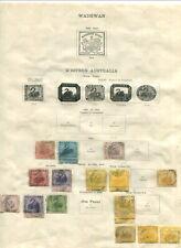 Western Australia On Album Pages 1854-1902