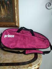 Prince Pink Black Tennis Racquet Racket Bag Case