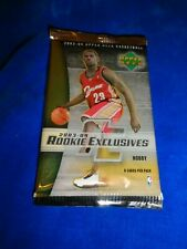 2003-04 Upper Deck Rookie Exclusives Basketball Hobby Pack- James Wade RC Year
