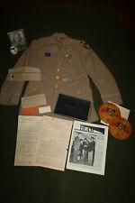 Large Original WW2 Identified U.S. Army Air Forces Pilot's Uniform Grouping Lot