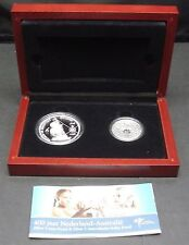 2006 Australia and Netherlands 2 Coin Set - 400 Years the Netherlands-Australia