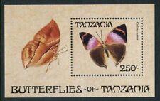 Tanzania 1988 Butterfly set Sc# 446-54 NH