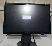 "Samsung SyncMaster 2043BWX 20"" Widescreen LCD Scratches Tested Working"