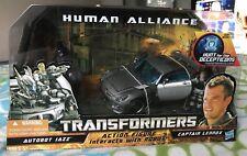 Transformers HFTD Human Alliance Jazz MISB Mint 100% Complete 2010