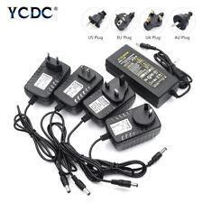 100-240V AC to DC Power Supply Charger Transformer Adapter 5/12/24V Output Plug